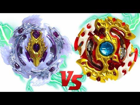 BLOODY LONGINUS vs SPRIGGAN REQUIEM | Beyblade Burst Super Z Chouzetsu ベイブレードバースト 超ゼツ