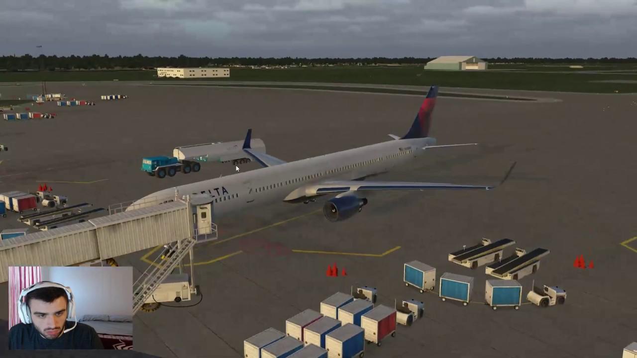 X-Plane 11 - Flight Factor 757-300 - Orlando to Atlanta