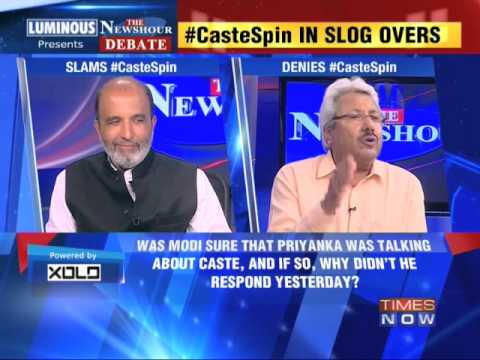The Newshour Debate: Caste Spin - Part 1 (6th May 2014)