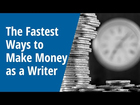 The Fastest Ways to Make Money as a Writer: INSIDE AWAI