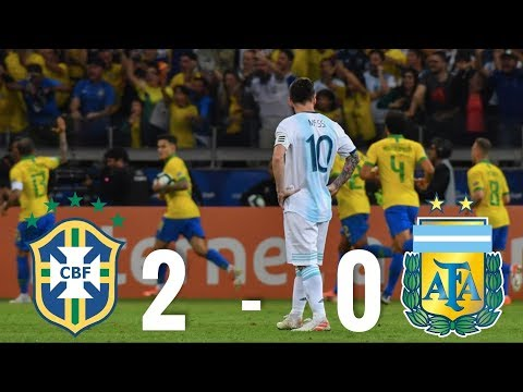 Brazil vs Argentina [2-0], Copa America Semi-Final, 2019 - MATCH REVIEW