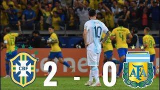Brazil vs Argentina [2-0], Copa America Semi-Final, 2019 - MATCH REVIEW
