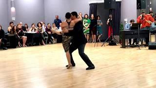 Krista Ann & Matt Bellamy Dance Argentine Tango to La Yumba with Alejandro Ziegler Quarteto