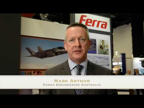 Ferra Engineering display at Land Forces 2016
