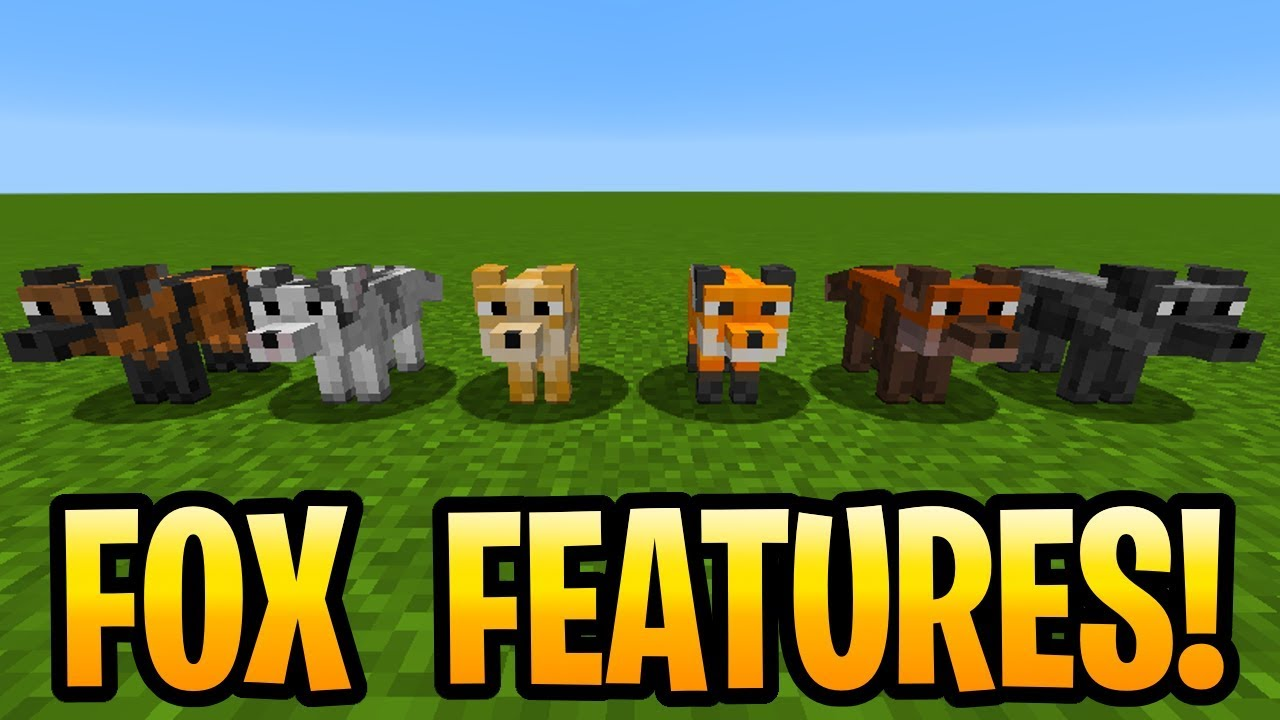 minecraft fox xbox one