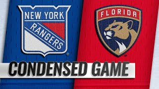 12/08/18 Condensed Game: Rangers @ Panthers