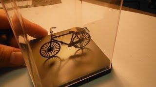 ペーパキット 昔の自転車 Retro bicycle paper craft