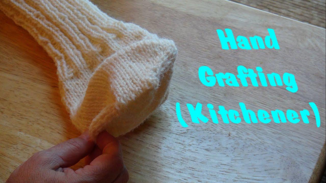 Hand Knit Grafting Kitchener - YouTube