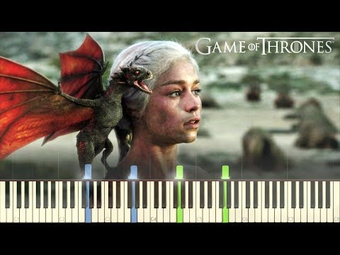 Game of Thrones - Finale (Daenerys Targaryen Theme) - Piano (Synthesia)