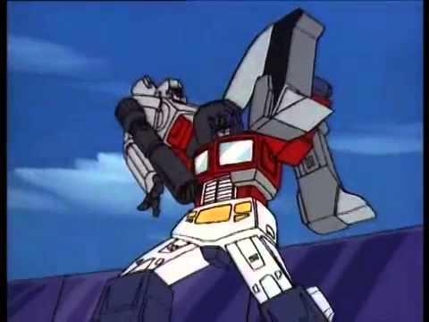 Transformers g1 optimus prime vs megatron child 39 s play - Transformers cartoon optimus prime vs megatron ...
