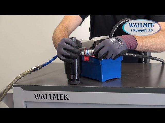 Wallmek W1036 Pneumatische Hydraulische Pomp met variabel toerental