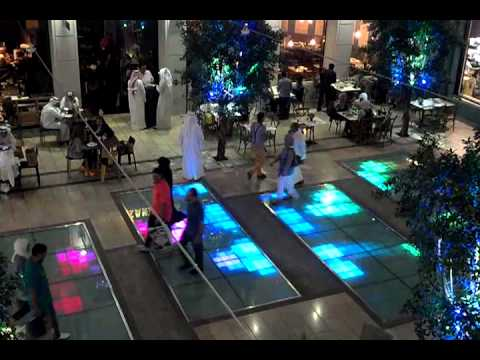 Interactive floors, Avenues Shopping Mall Kuwait