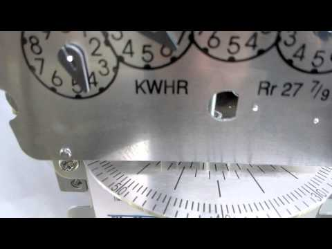 Solar PV meter when the going from Utility Power to Solar Power