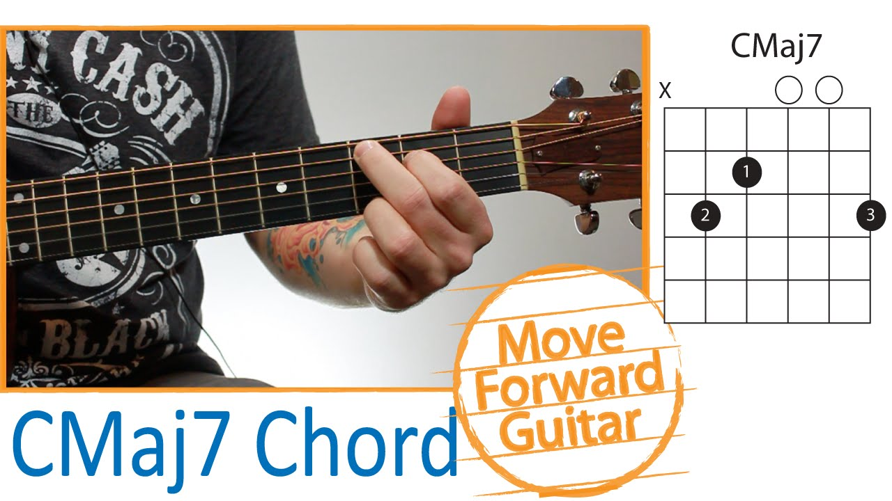 Guitar Chords For Beginners Cmaj7 Version 2 Youtube