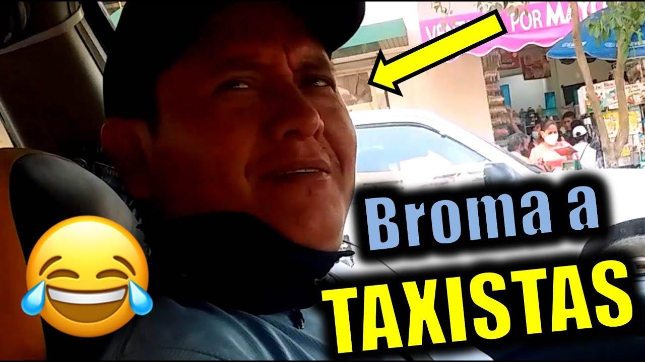 BROMA PESADA a taxistas #5 / CHICA HERMOSA le quiere hacer el DELICIOSO!!