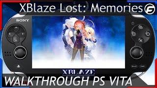 XBlaze Lost: Memories Walkthrough Part 4 Visions of Memory