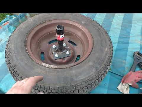 Изготовление и установка ступиц под Жигулевские колеса на мотоблок Нева МБ 23 Yamaha своими руками