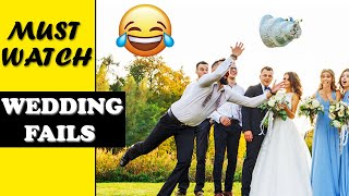 Try Not To Laugh - Funniest Wedding Fails Funny Weddings Funny Fails