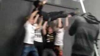 Blessthefall Hooliguns Photoshoot - Taste of Chaos 2008