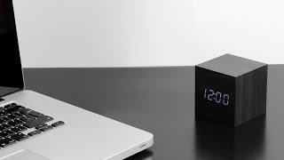Gingko CUBE mit Sound Sensor - Wecker/Uhr/Kalender und Temperatur in einem - Click Clock