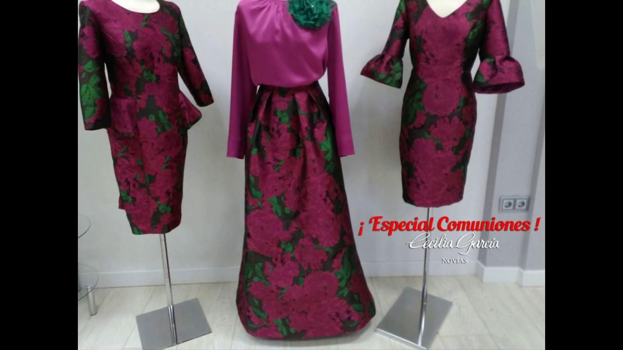 Vestidos para madres en primera comunion