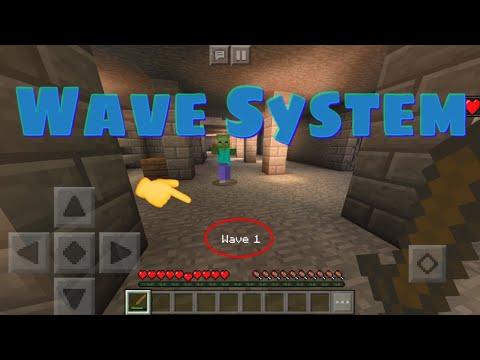 Minecraft (Bedrock) - Wave System (Zombies/Boss Battles/etc.)
