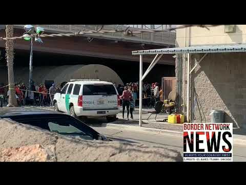 Huge Tent Under Port Of Entry Found Housing Migrants Due To Overflow! Conservative Anthony