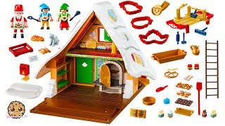 Santa's Christmas Cookie Work Shop Playmobil Christmas Holiday Video