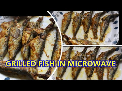 MUMMY'S COOKING -  GRILLED FISH IN MICROWAVE
