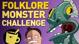 Folklore Monster Drawing Challenge (ft. Mike Trapp)