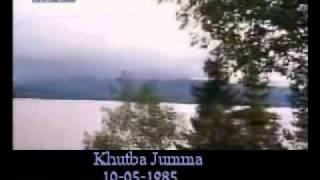 Khutba Jumma:10-05-1985:Delivered by Hadhrat Mirza Tahir Ahmad (R.H) Part 4/5