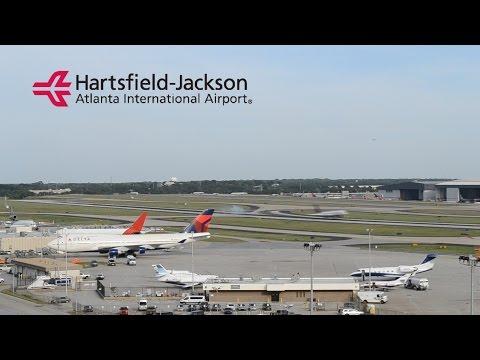 [HD] Hartsfield-Jackson Atlanta Airport Time Lapse 1080p