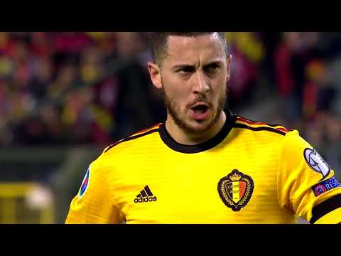 Belçika - Rusya (3-1) EDEN HAZARD SHOW