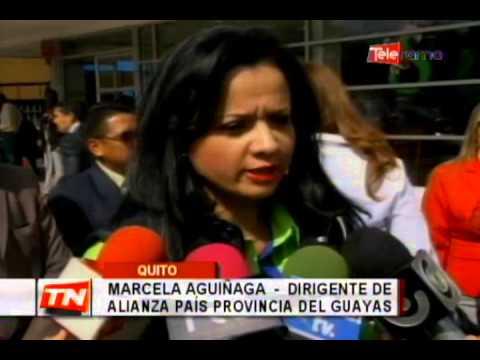 Presidente Correa posesionó a nueva directiva de Alianza País