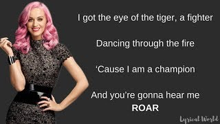 Roar - Katy Perry (Lyrics)