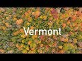 Vermont Fall Color (Music - Rewrite The Stars by Piano Guys)