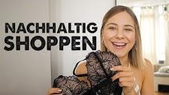 Unterwäsche & Kleidung nachhaltig/ secondhand shoppen I Ein Haul