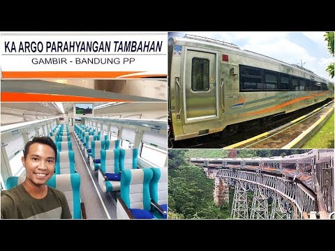 Trip by Train - Eksekutif Terbaru 2018 Argo Parahyangan Stainless Steel