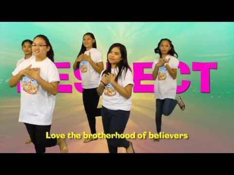 "VBS 2014 Kingdom Quest dance demo ""Respect"""