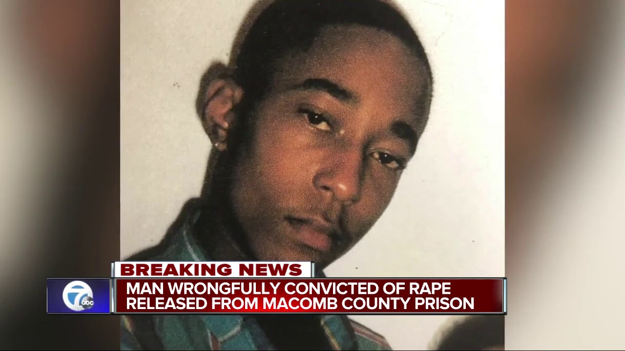 Man wrongfully convicted of rape released from Macomb County prison