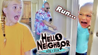 Escape The BabySitter PB&J Sandwiches With Hello Neighbor!
