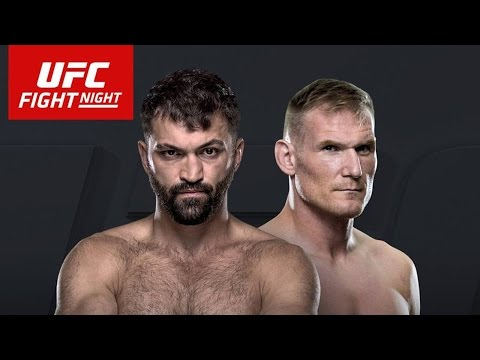 ARLOVSKI VS BARNETT Live Stream UFC FIGHT NIGHT HAMBURG