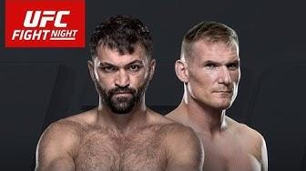 ARLOVSKI VS BARNETT Live Stream UFC FIGHT NIGHT HAMBURG