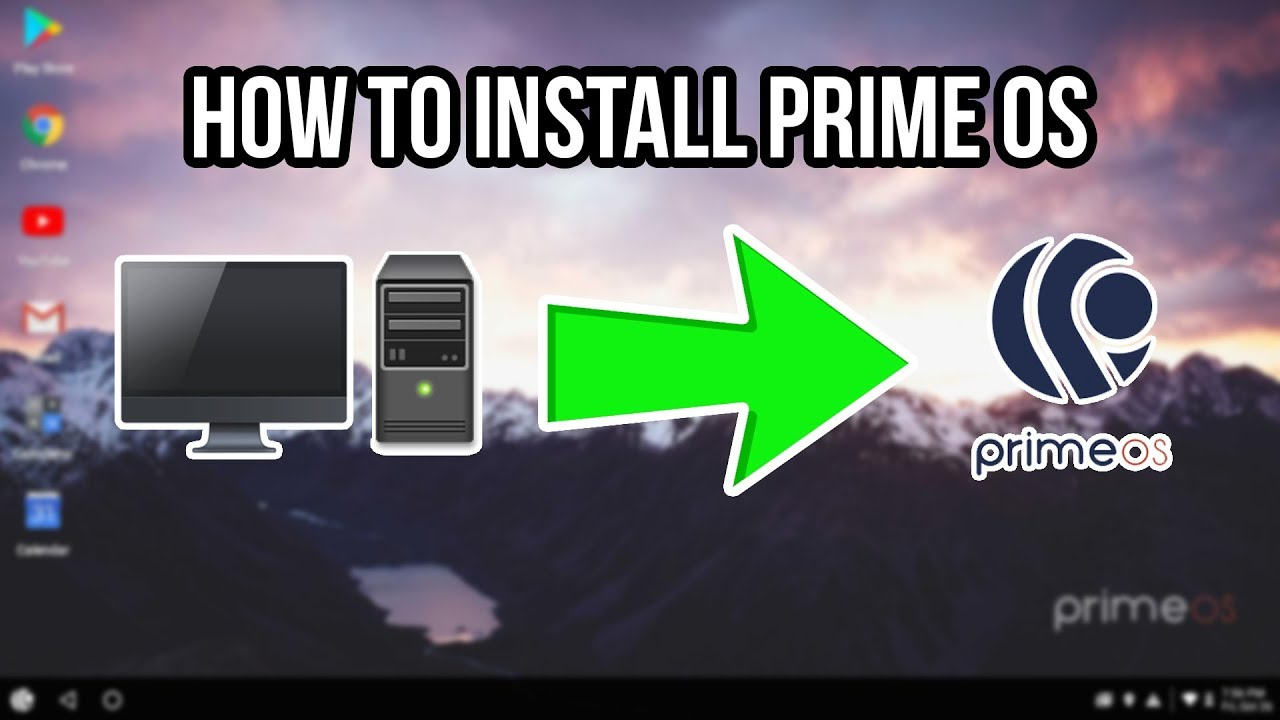How to Install Prime OS on ANY PC  Android on PC: SurfaceGo