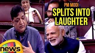 PM Modi Splits Into Laughter Over Naresh Agarwal Comments In Rajya Sabha | Mango News