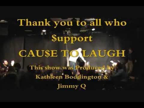 Kelly Karavites Cause to Laugh Broadway 082609