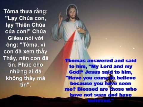 Chua Nhat 2 Phuc Sinh: Kinh Long Thuong Xot Chua