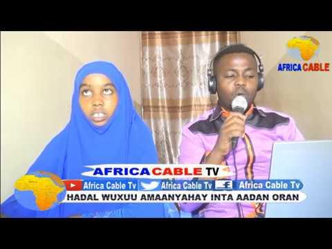 TARTANKA KOOXAHA CITYFM IYO AFRICA CABLE TV 29 05 17