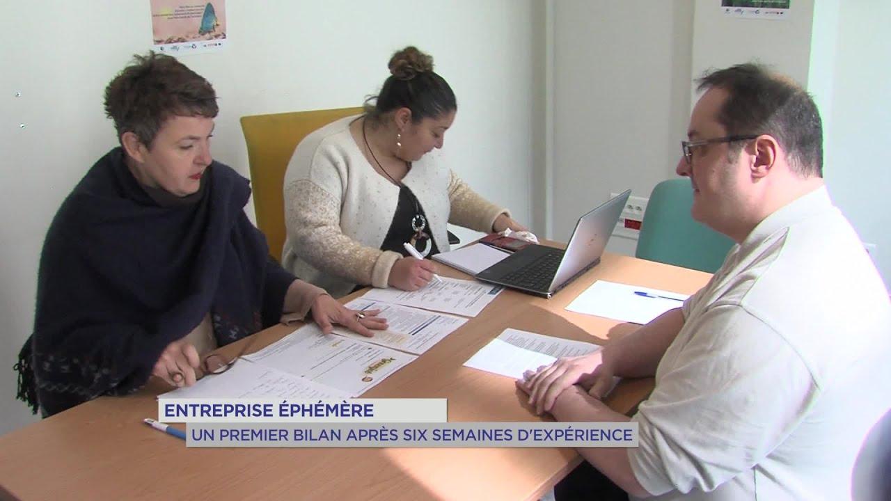 Yvelines | Entreprise éphémère : Un premier bilan après six semaines d'expérience