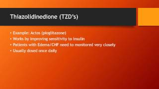 Most Common Oral Medications for Type 2 Diabetes